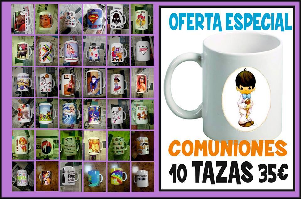 TAZAS COMUNIONES