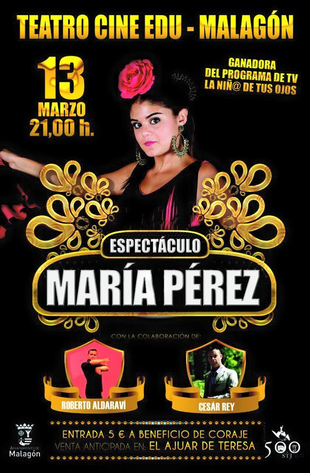 CARTEL MARIA PEREZ