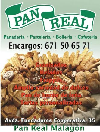 17. PAN REAL MALAGÓN